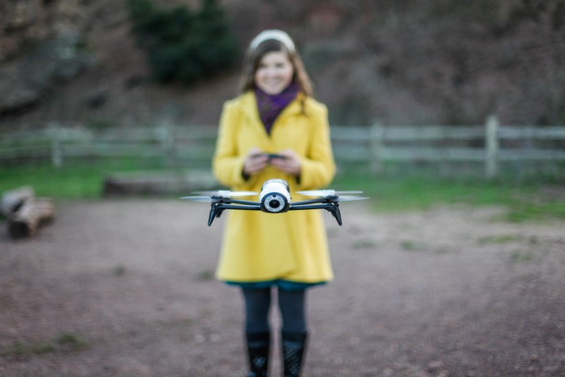 parrot bebop sally french the drone girl