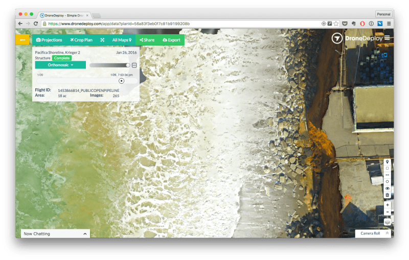 DroneDeploy Orthomosaic Example