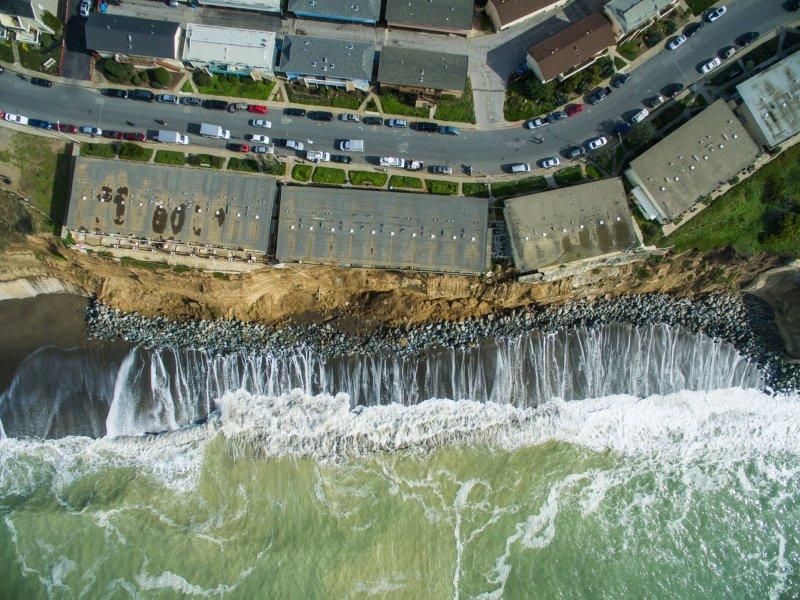 Sample california aerial image