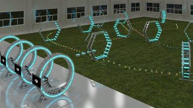 dji drone arena