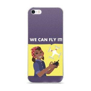 "iPhone 5/5s/SE & 6/6s/Plus/6sPlus case ""We Can Fly It"""