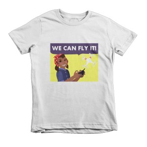 """We Can Fly It"" Short sleeve kids t-shirt"