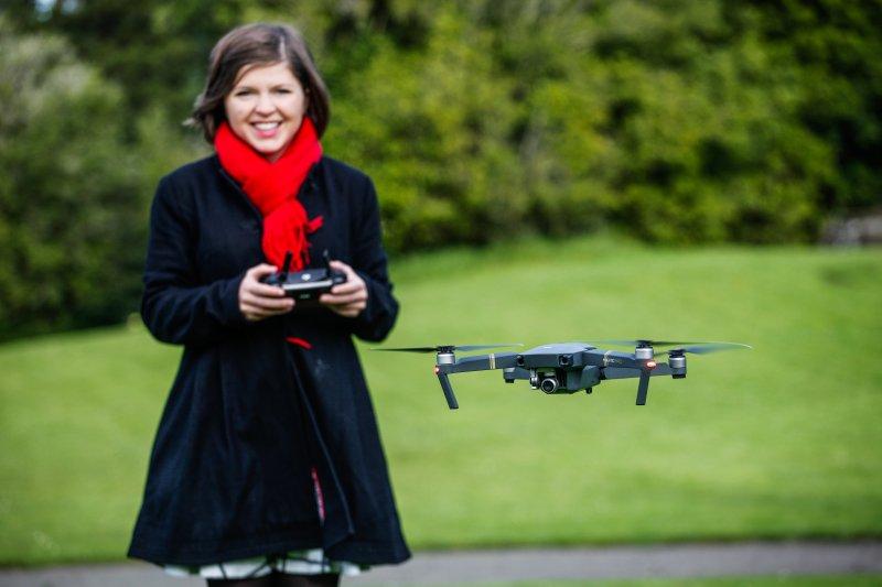dji mavic pro review drone girl