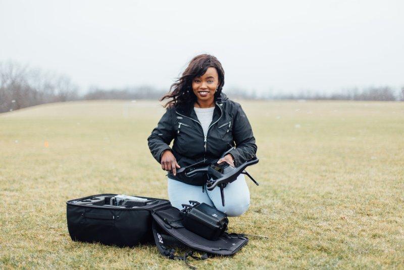 Lyela Mutisya drone girl