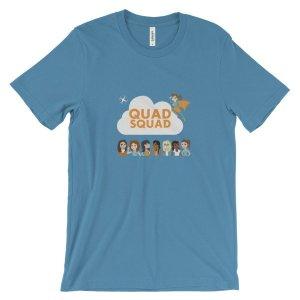 """""""Quad Squad"""" Unisex short sleeve t-shirt"""
