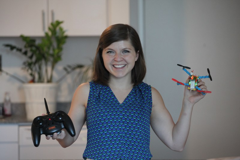 flybrix review drone girl lego build
