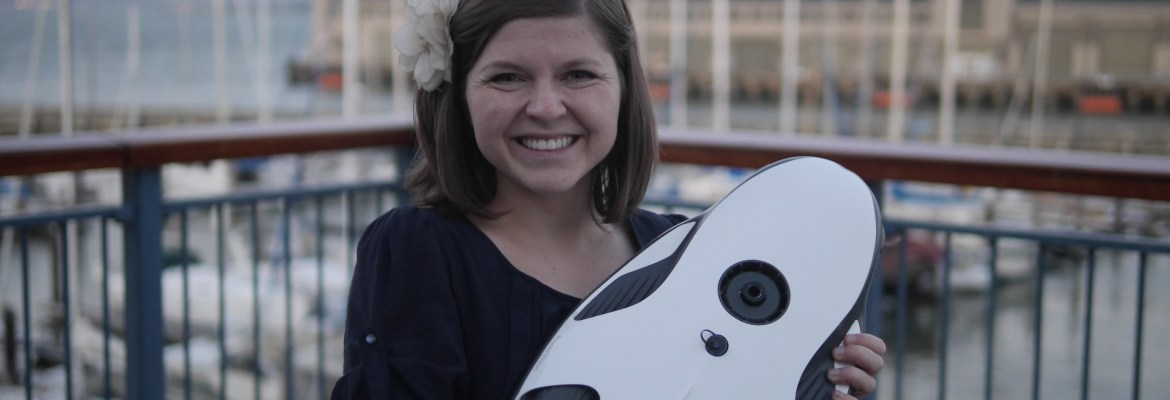 powerray powervision underwater drone sally french