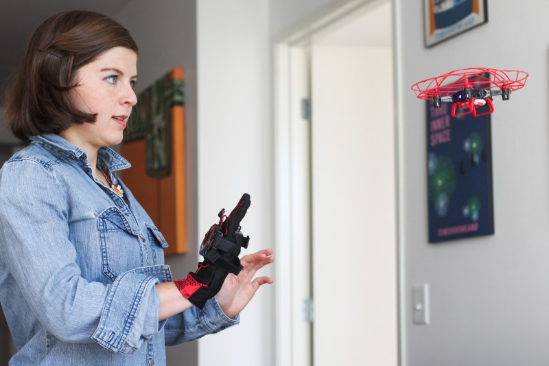 aura drone gesture control toy kd robotics