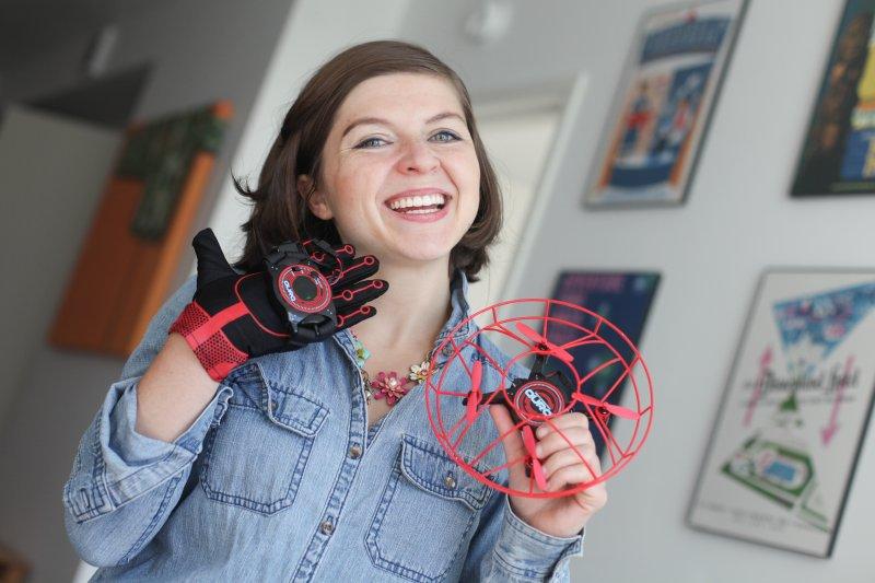 aura drone gesture control