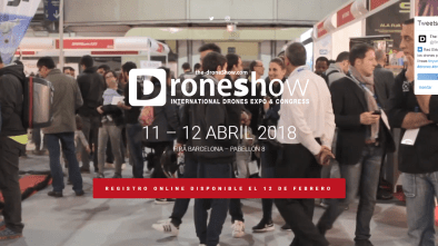 barcelona spain drone show