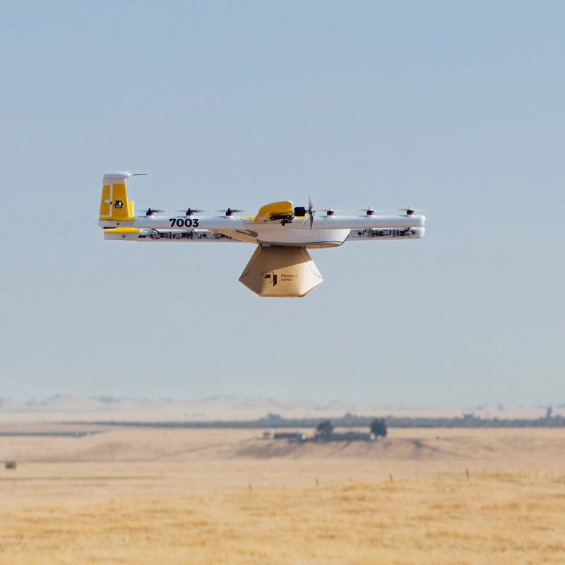 Google X Project Wing spinoff drone delivery UTM