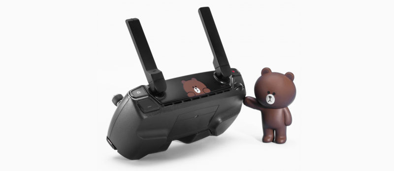DJI Line Friends drone Spark brown