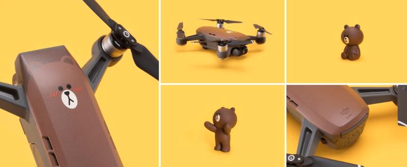 DJI Line Friends drone spark