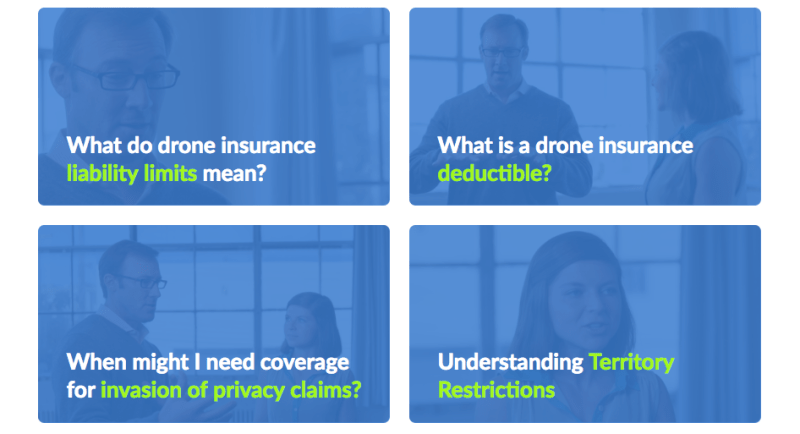 droneinsurance video series drone insurance liability limits deductible claims