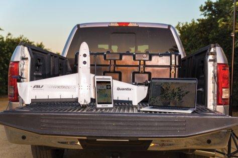 Aerovironment's Quantix drone AVAV farmers