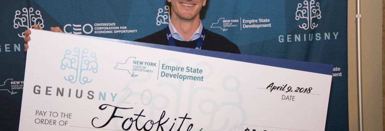 GENIUS NY startup business drone uas