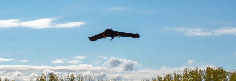 senseFly eBee graveyard Calgary Canada BVLOS drone
