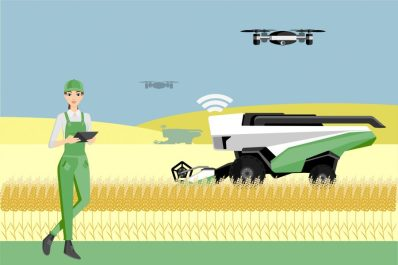 agriculture drone farmer woman drone startups 2019