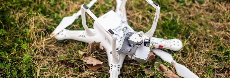 employee fraud drone crash