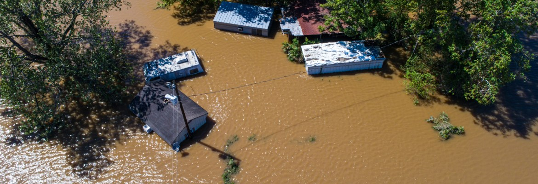 aerial state farm insurance hurricane drone