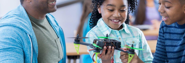 drone STEM kids science