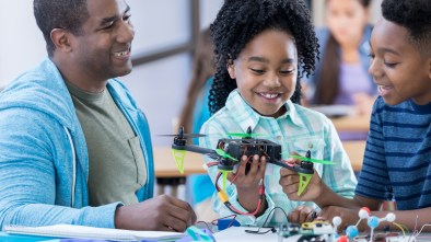 drone STEM kids science