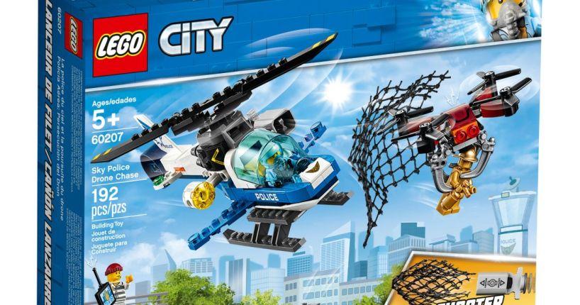 LEGO police drone