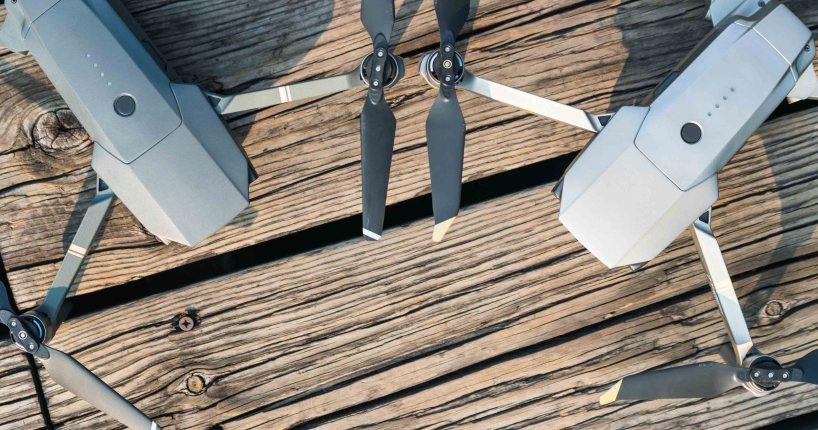 DJI Mavic Pro vs Platinum drone quadcopter