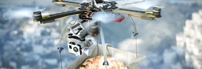startup Flytrex pizza delivery food North Carolina Iceland