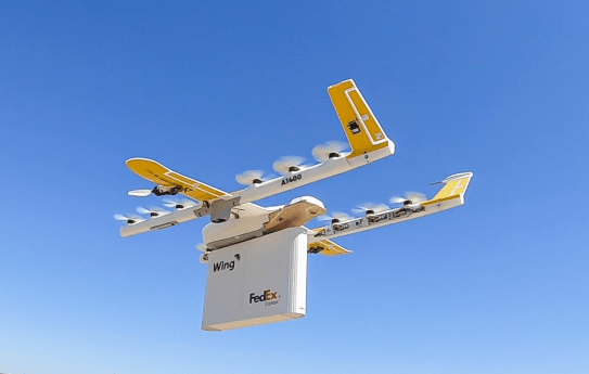 Fedex drone deliveries Google Project Wing