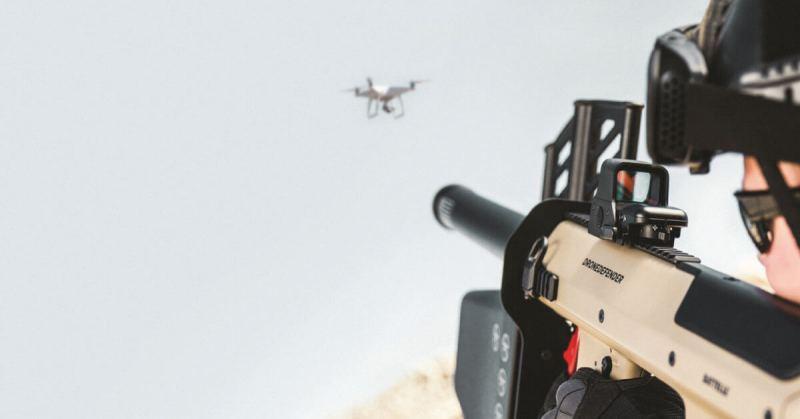 Dedrone's DroneDefender Battelle