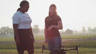 PrecisionHawk women drones software farm field data
