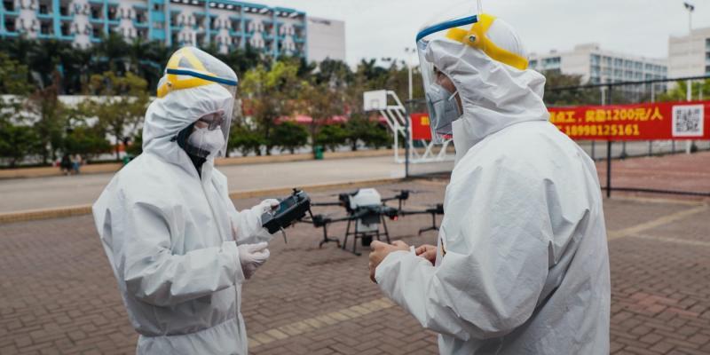 DJI coronavirus outbreak