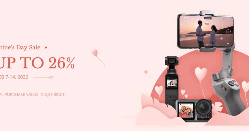 Valentine's 2020 sale DJI tello Osmo