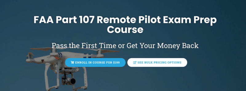 Drone Launch Academy enroll Part 107 test prep course