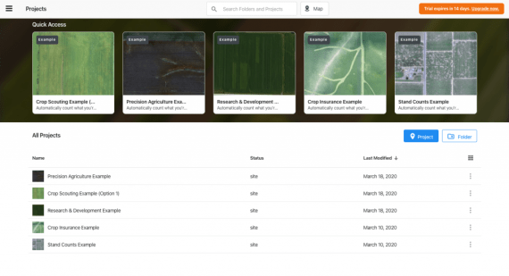 DroneDeploy agriculture