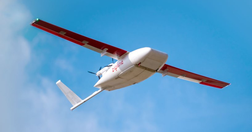 Zipline expands coronavirus drone deliver