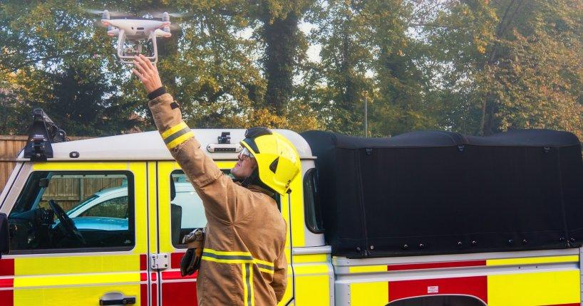 Five Cs drone public safety