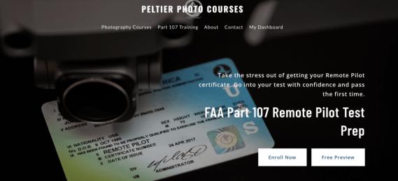 John Peltier FAA Part 107 Remote Pilot Test Prep Course