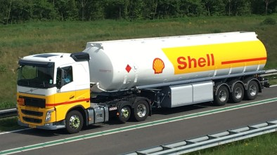 Shell Oil Company truck