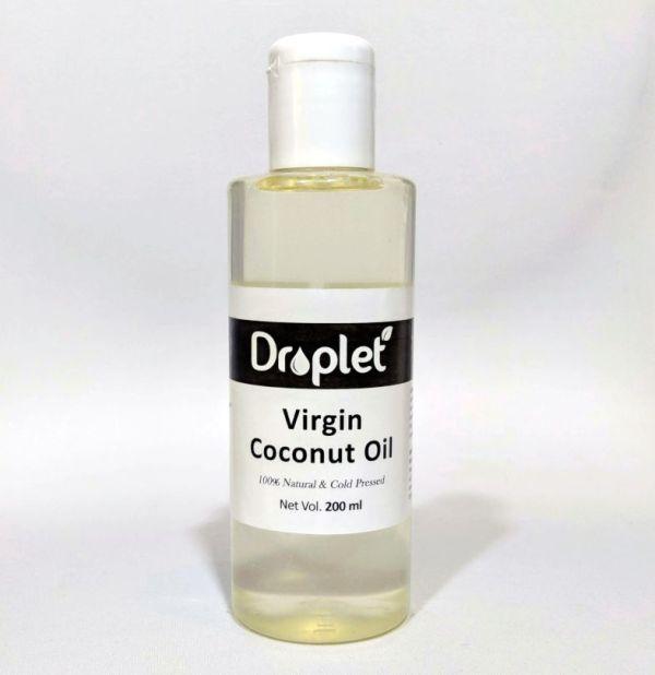 natural virgin coconut oil