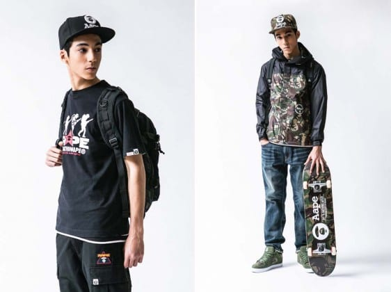 AAPE by A Bathing Ape Spring/Summer 2013 Collection Lookbook
