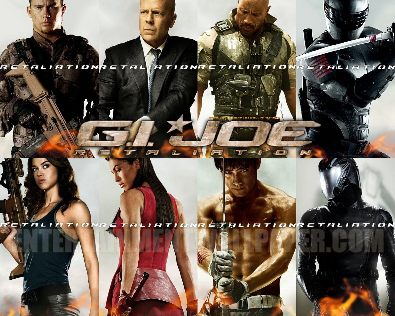 New International Poster for G.I. Joe: Retaliation Featuring Bruce Willis