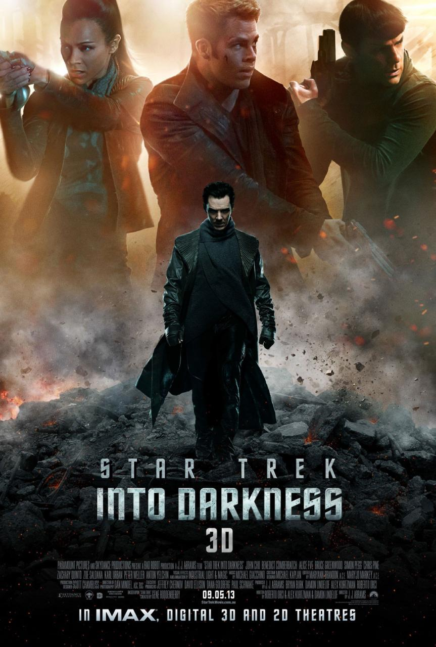 Star Trek Into Darkness International New Poster