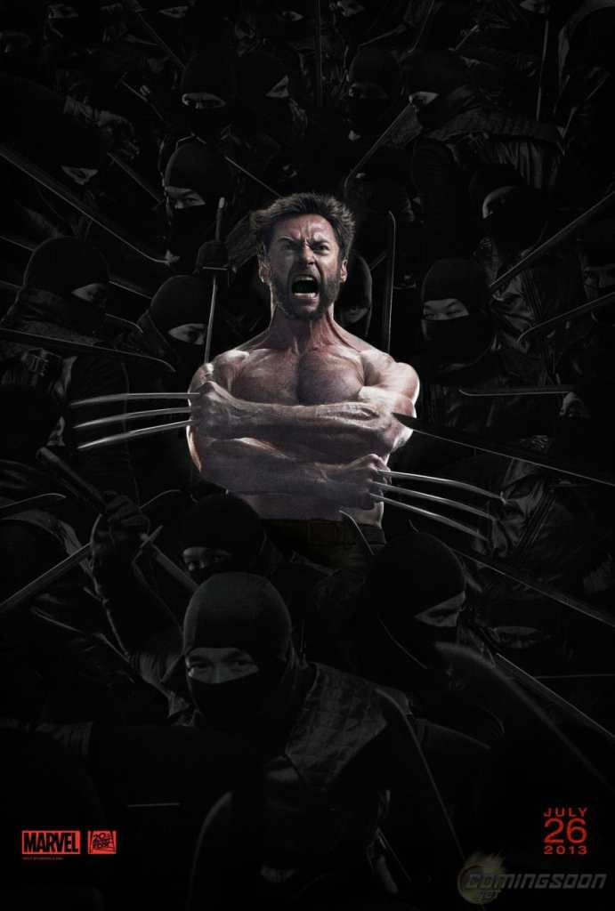 The New Poster for The Wolverine!