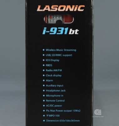 LASONIC I-931BT BLUETOOTH BOOMBOX SPEAKER