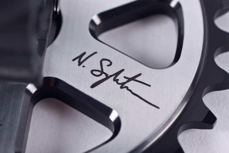 Nigel Sylvester x G-Shock x Animal Bikes Limited Edition Autographed Sprocket Display