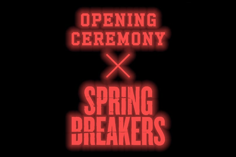 """Opening Ceremony and Todd """"REAS"""" James Team Up with Spring Breakers"""