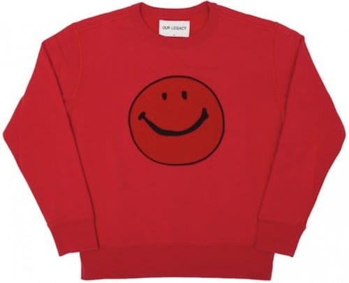 Our Legacy for Storm Smile Sweatshirt