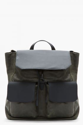 Alexander Wang Flat Pocket Leather Backpack